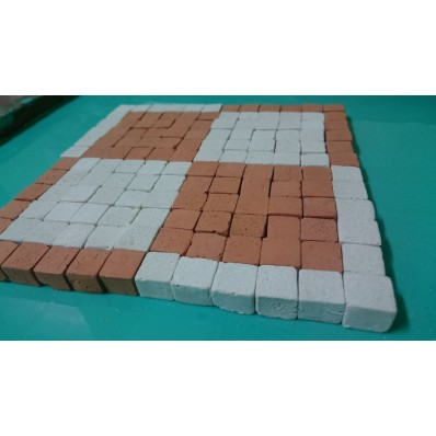 Mozaika piksel, kostka do mozaiki